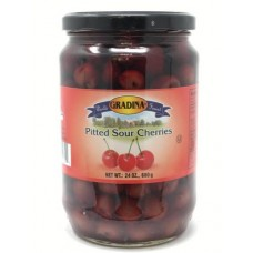 GRADINA PITTED CHERRIES12/24OZ