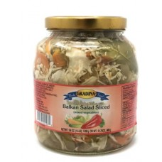 GRADINA BALKAN SALAD CUT 6/56OZ