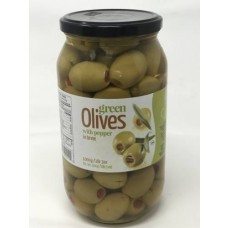 CHLOE OLIVES GREEN W/PEPP. 6/1KG S MAMMOUTH