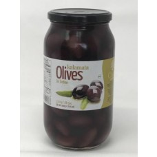 CHLOE OLIVES KALAMATA WHOLE 6/1KG COLOSSAL
