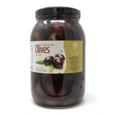 CHLOE OLIVES KALAMATA WHOLE 6/2KG COLOSSAL