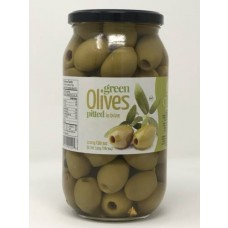 CHLOE OLIVES GREEN PITTED 6/1KG SS MAMMOUTH