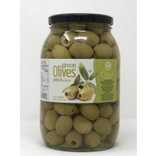 CHLOE OLIVES GREEN PITTED 6/2KG SS MAMMOUTH